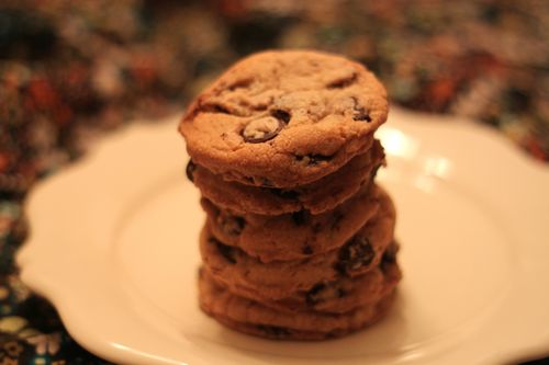 New York Times Chocolate Chip Cookies Stack