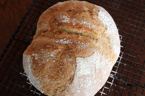 Light Wheat Bread Loaf