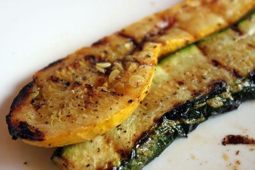 Grilled Zucchini Strips