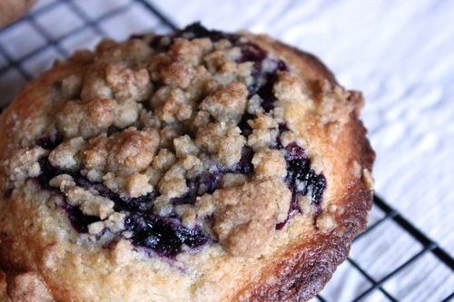 Blueberry Muffin Streusel Topping