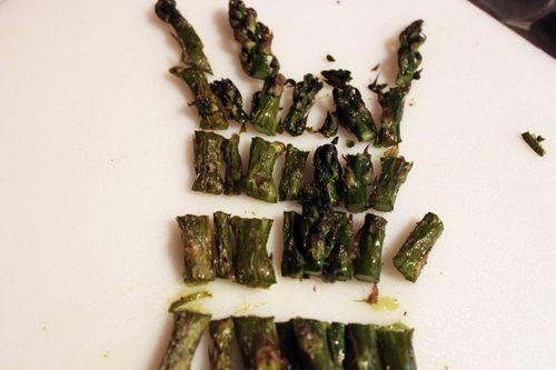 Cut Roasted Asparagus