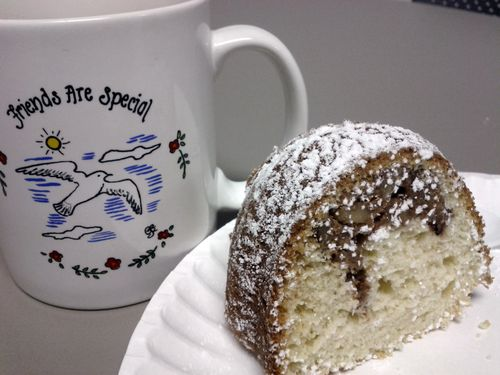 Maple Pecan Bundt Cake n Mug
