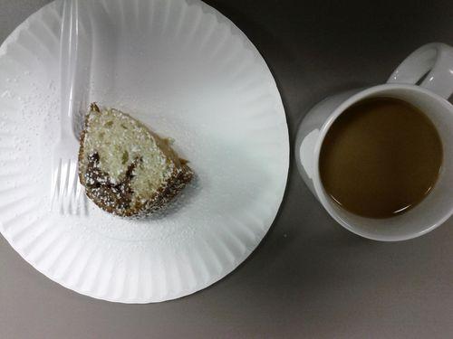 Cake Plastic Fork Coffee