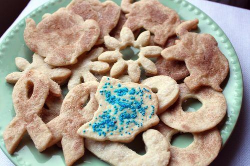 Dairy-Free Sugar Cinnamon Cookies
