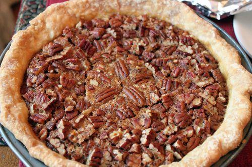 Rustic Pecan Pie
