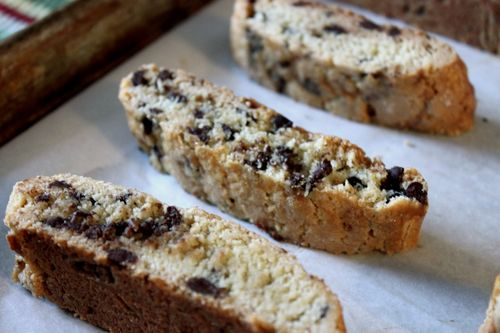 Joy the Baker Dark Chocolate Anise Biscotti