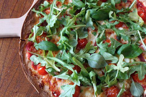 Thin Pizza with Arugula