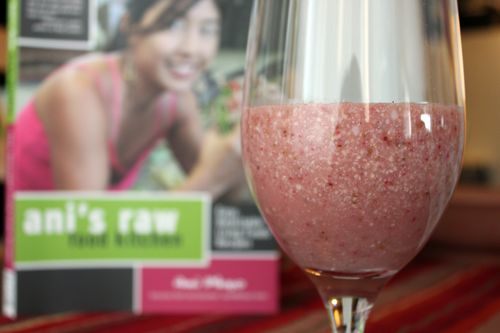 Ani's Raw Food_Strawberry Coconut Shake