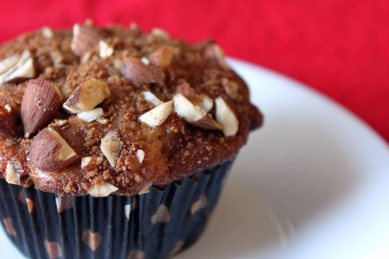 Apple Cinnamon Muffins with Almonds